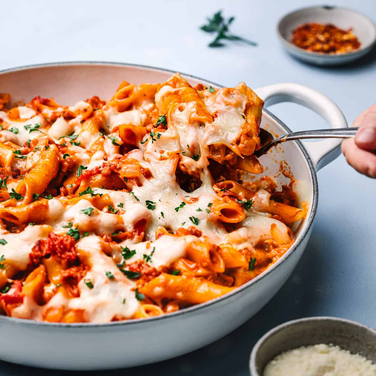 Penne with Sausage