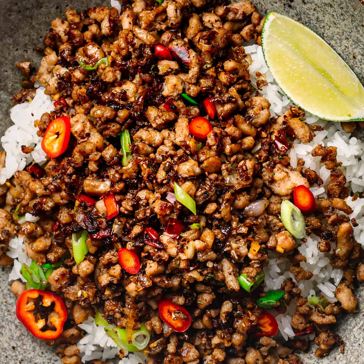 Minced Pork Recipe