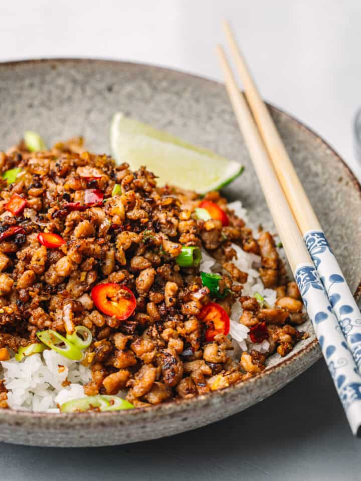 Vietnamese Caramelized Pork Bowls
