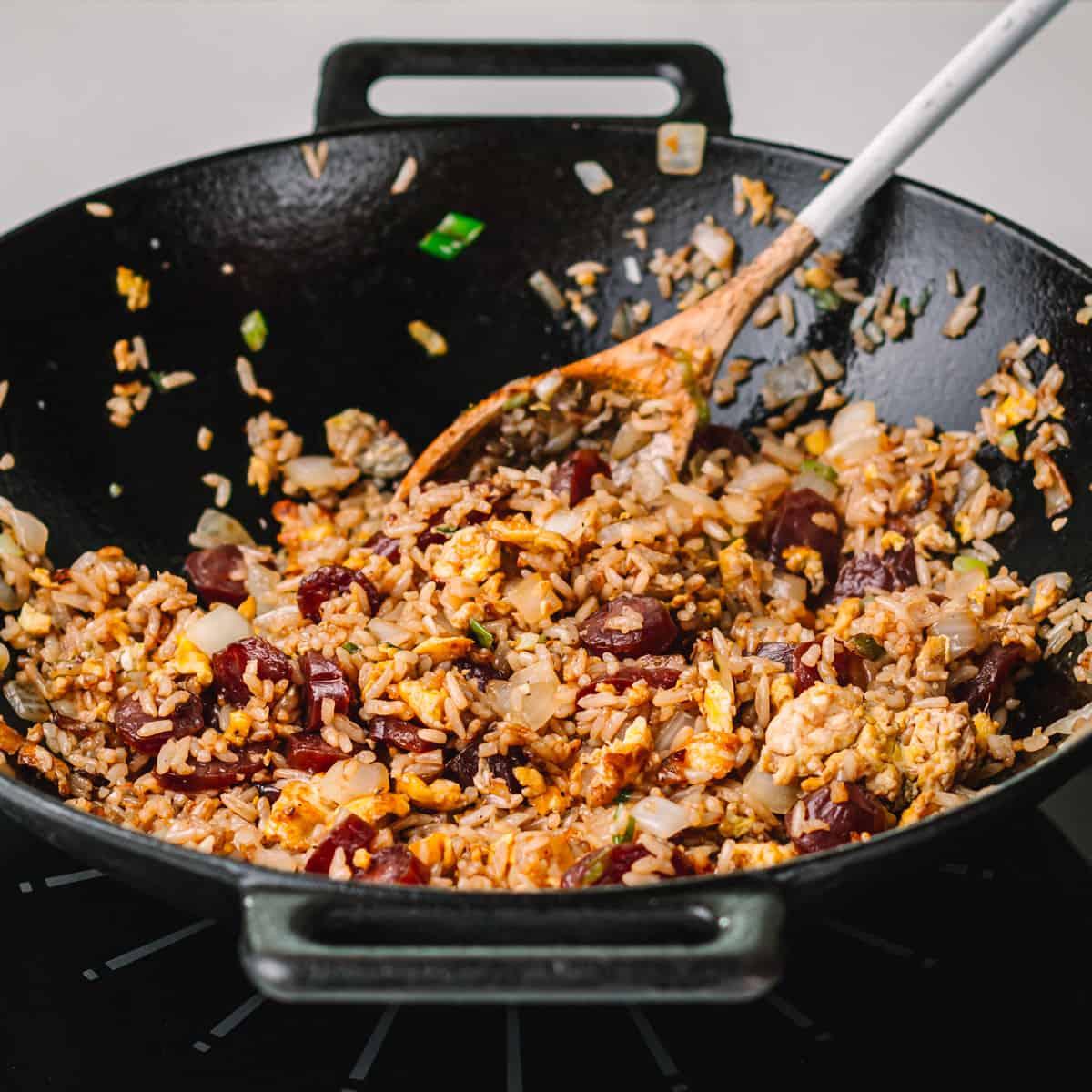 Nasi Goreng Sausage
