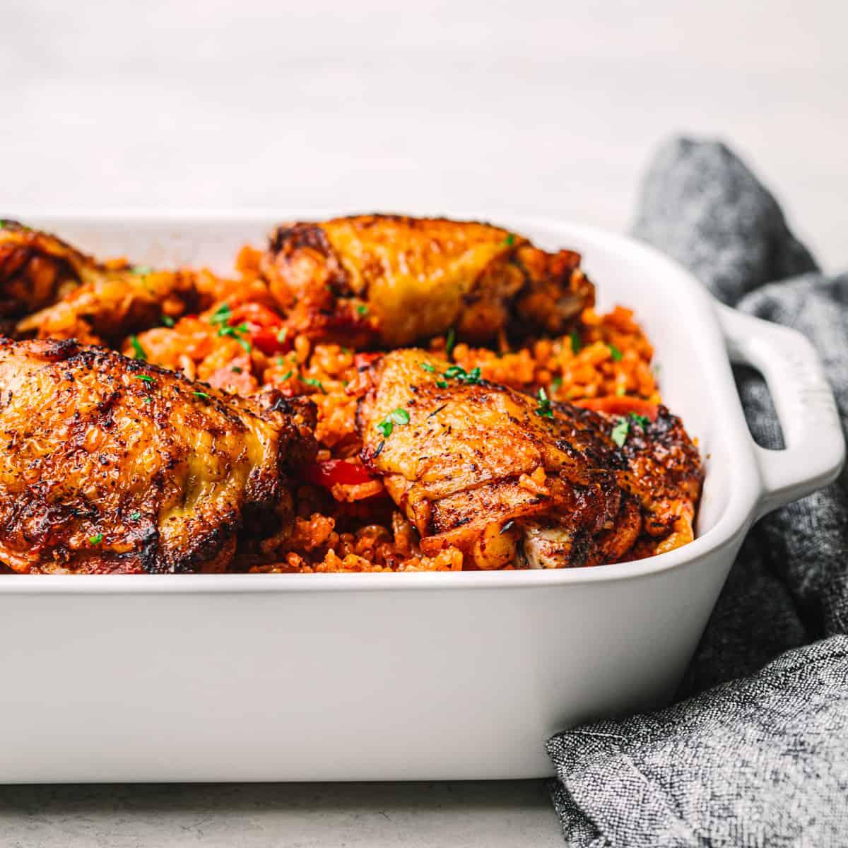 Spanish Rice with Chicken and Chorizo