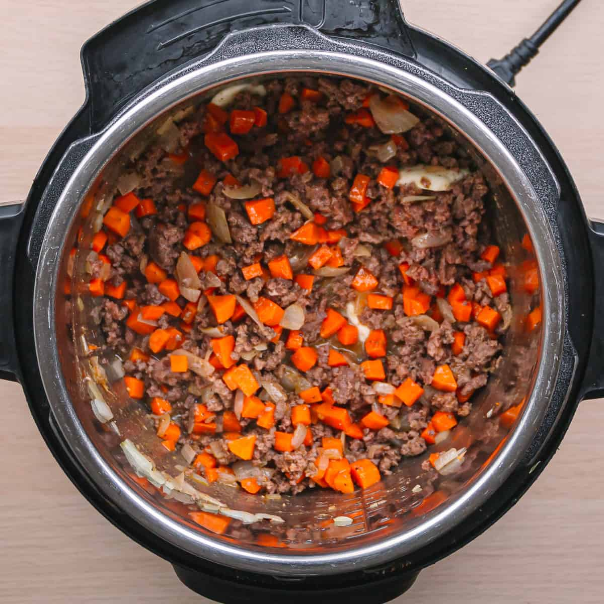 Ground Beef and Carrot