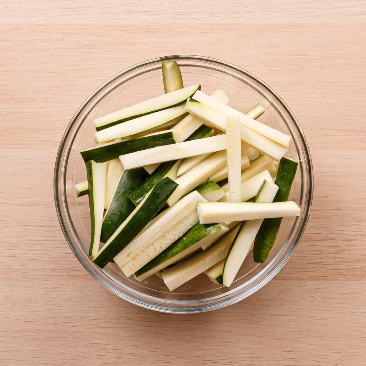 zucchini in air fryer