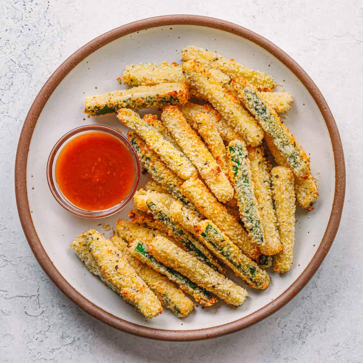 Air Fryer Zucchini Fries Recipe