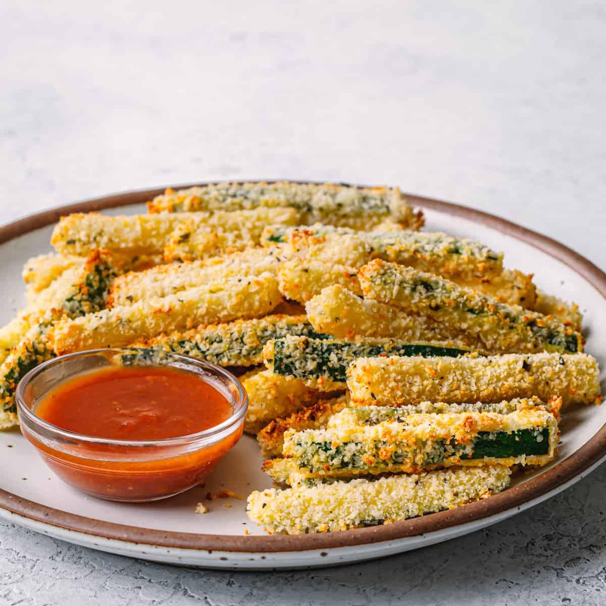 zucchini fries air fryer