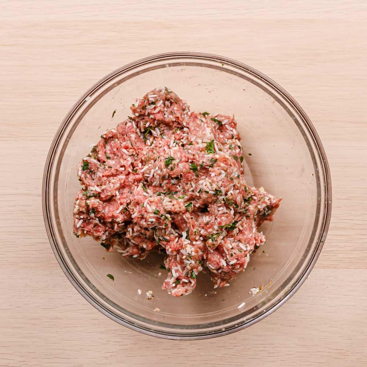 meatballs mixture