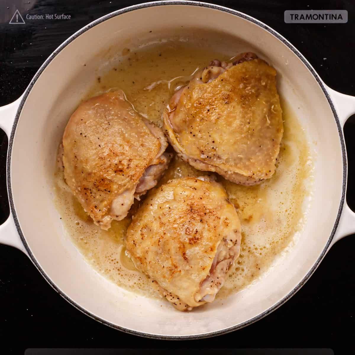 Brown the Chicken