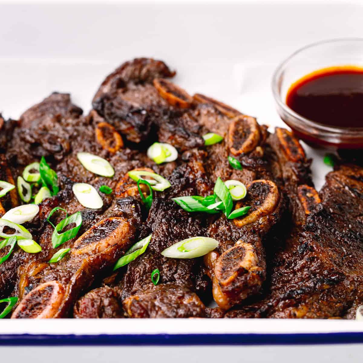 Kalbi Korean BBQ Flanken Short Ribs