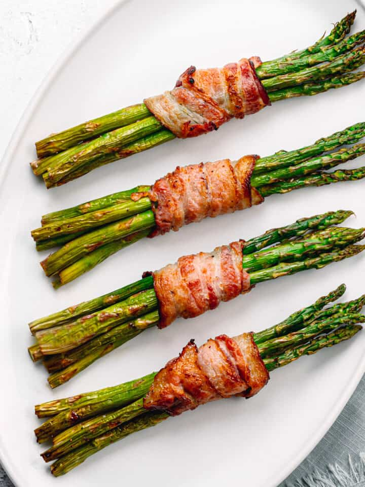 recipe for asparagus wrapped in bacon