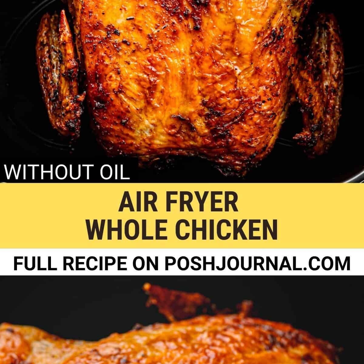 how to cook whole chicken in an air fryer.