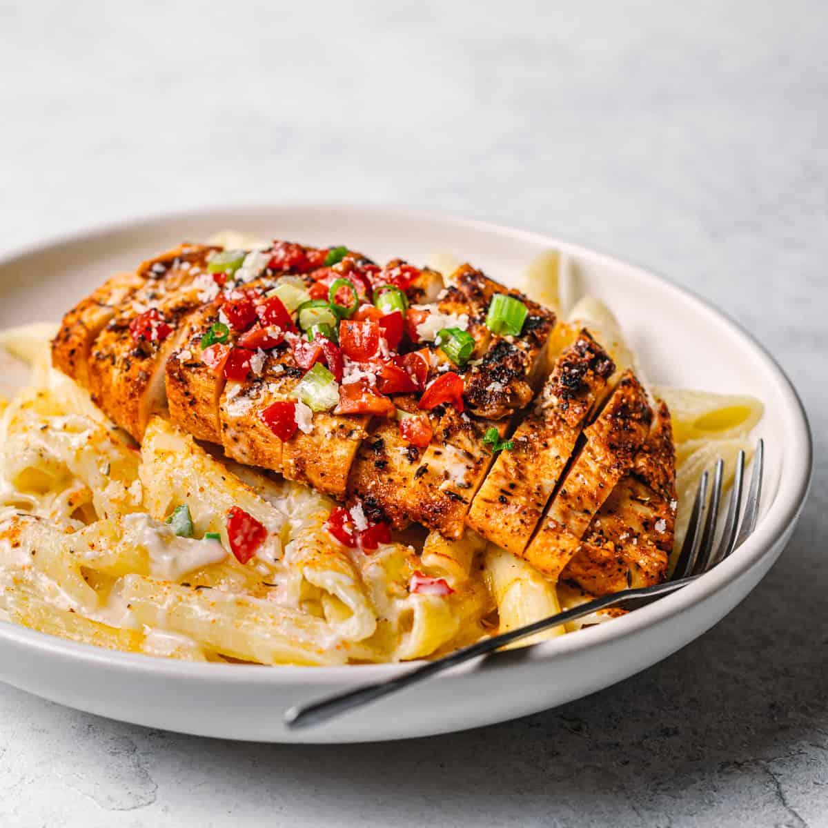 Cajun Chicken Alfredo Pasta