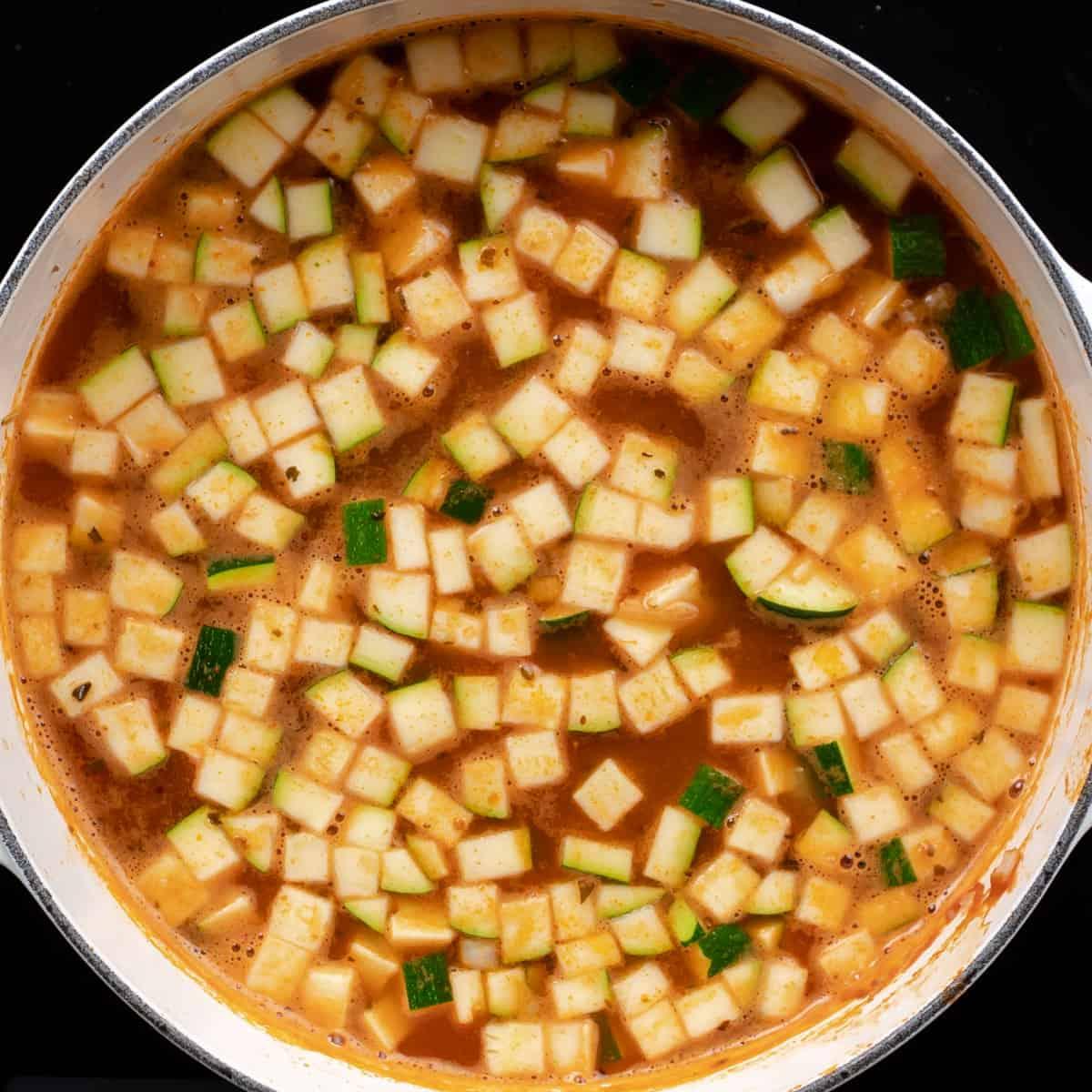 Soup with Bouillon