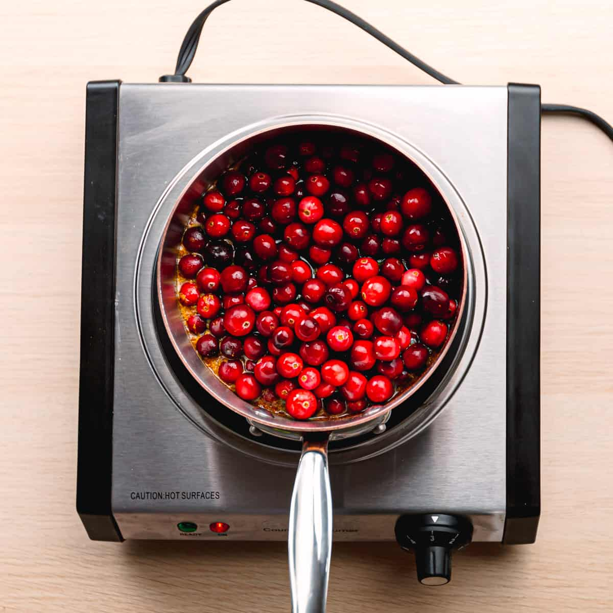 How to make cranberry relish