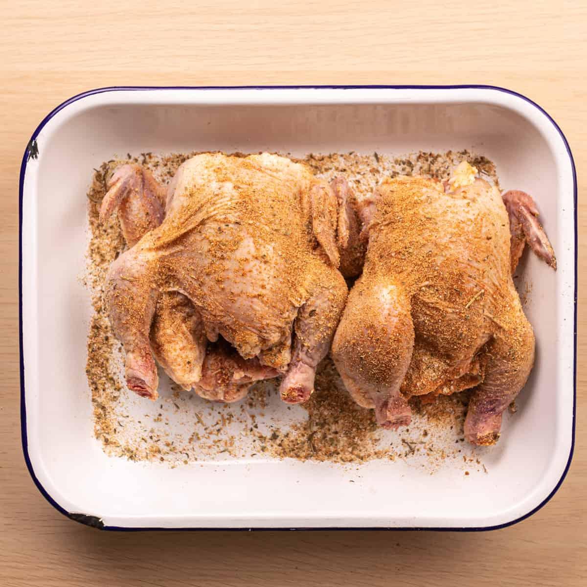 Seasoned Cornish Hen
