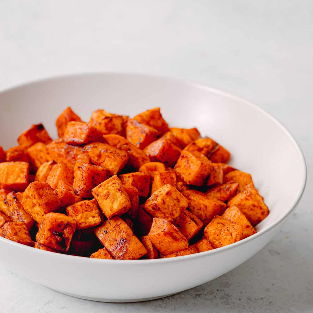 Sweet Potatoes with Maple Syrup
