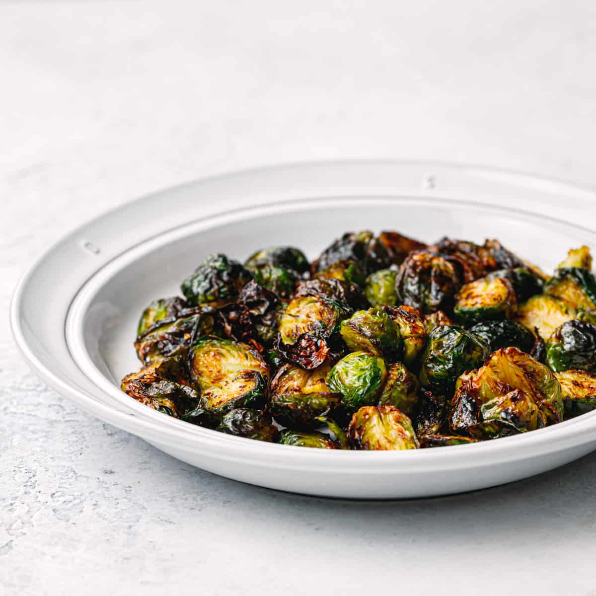 Brussels Sprouts with Balsamic Glaze