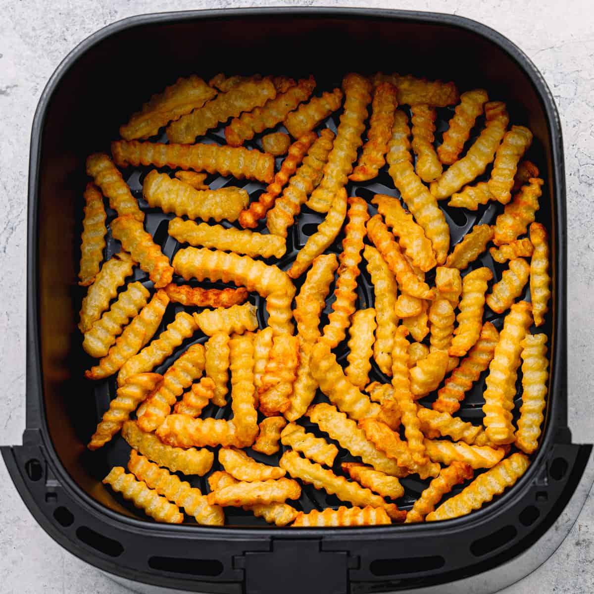 Crispy Air Fryer Frozen French Fries