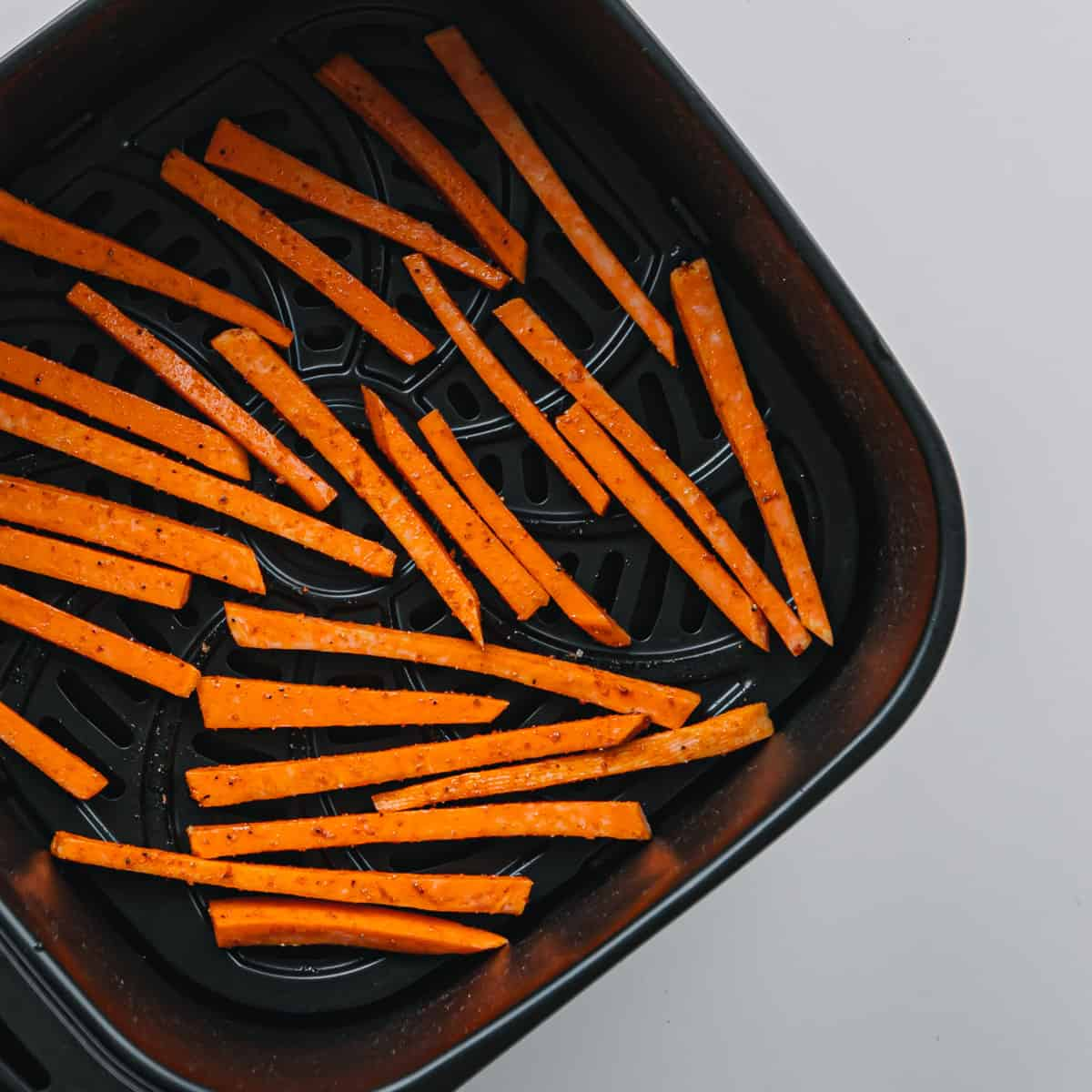 Cook the Sweet Potatoes in an Air Fryer