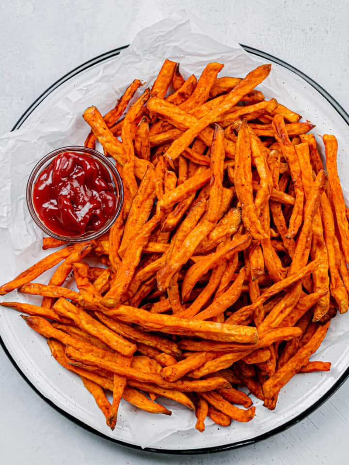 air fryer sweet potato fries recipe