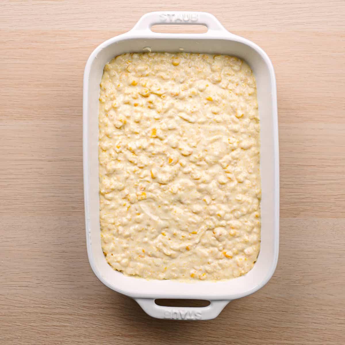 How to Bake Corn Casserole