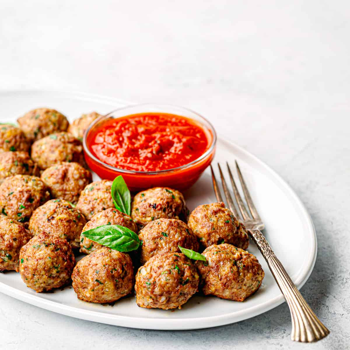 ground beef Italian meatballs