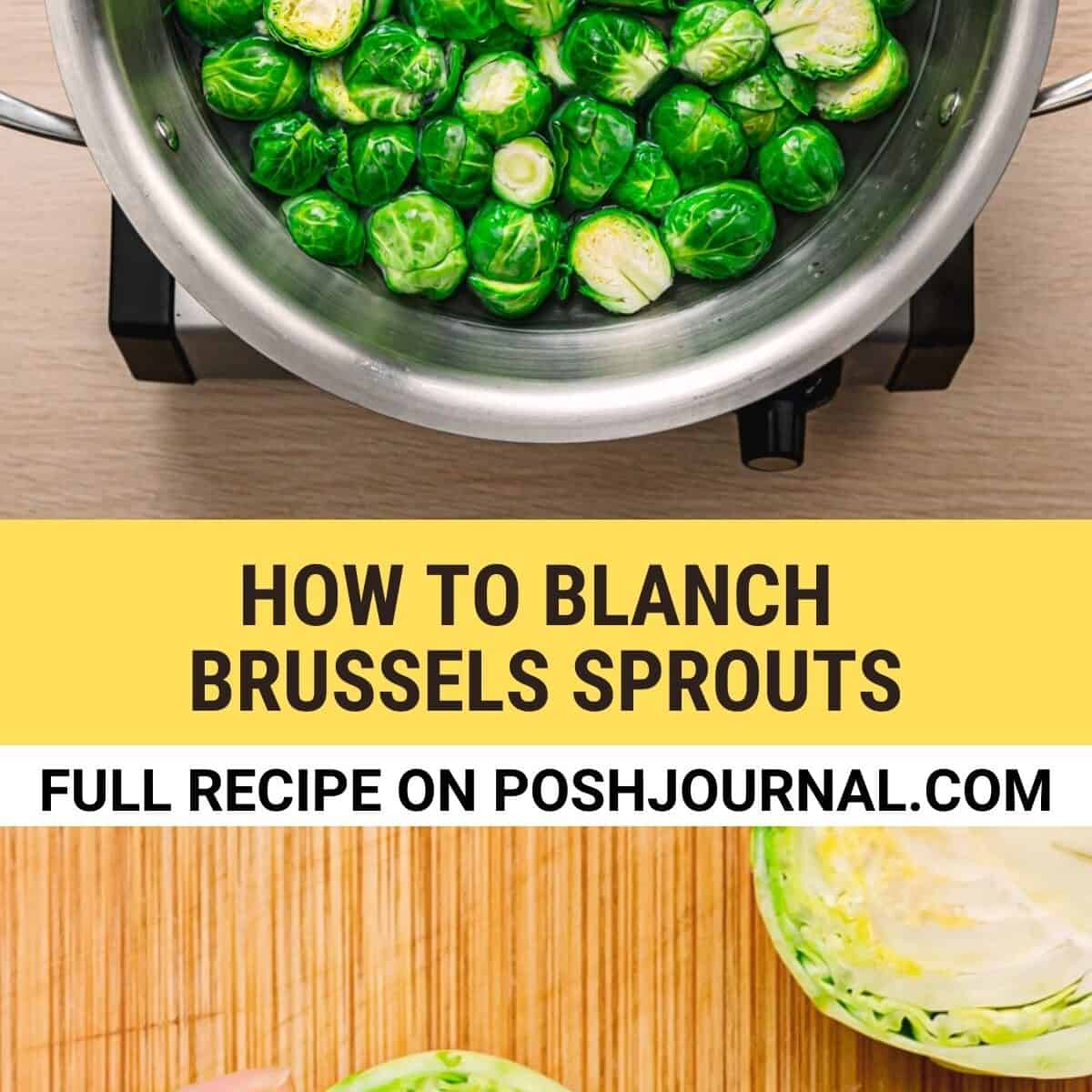 How to Blanch Brussels Sprouts