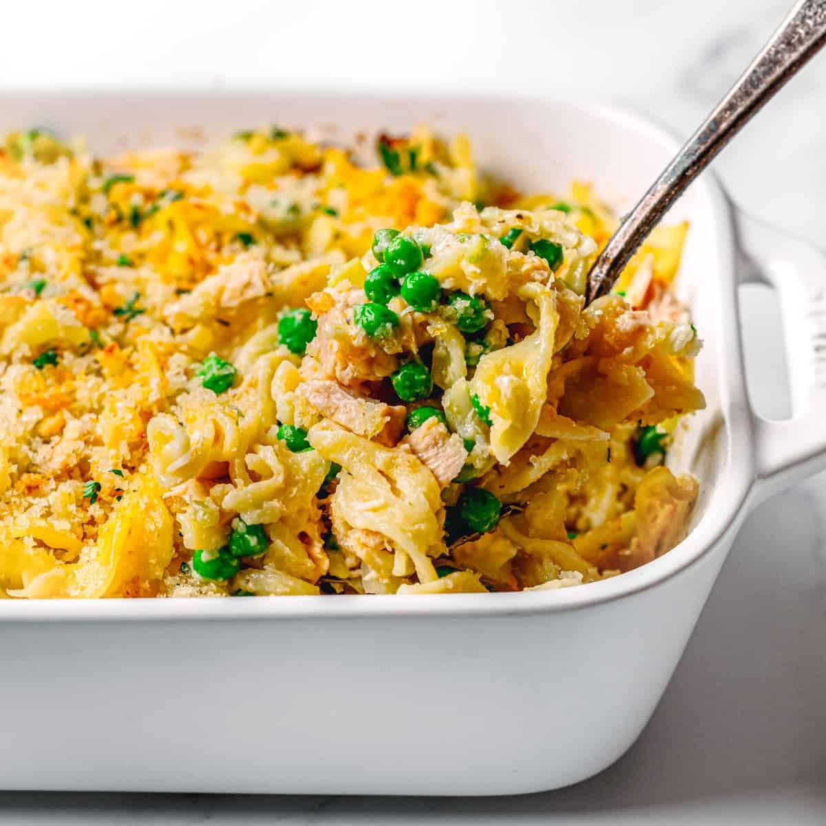 How to Make Easy Tuna Casserole