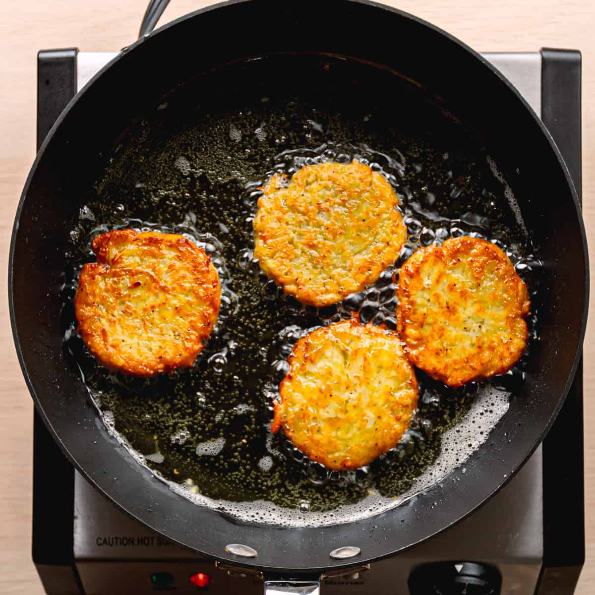 Pan Fried Potato Pancakes