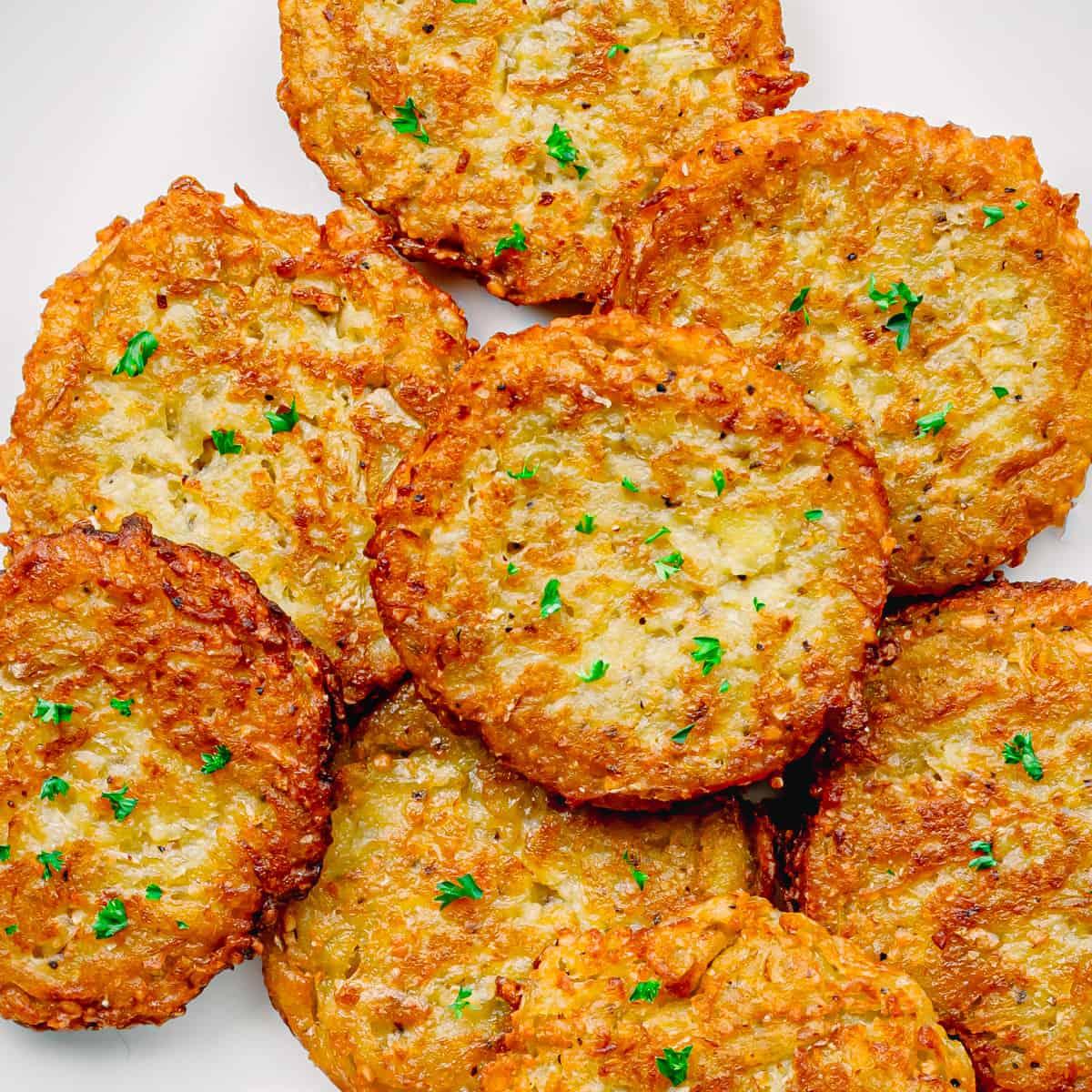 Classic Jewish Potato Latkes