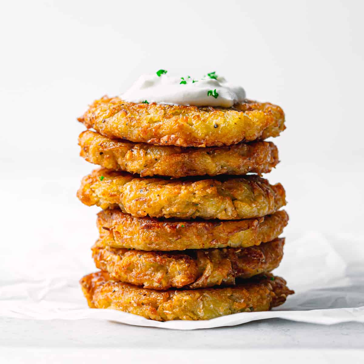 Crispy Potato Latkes recipe