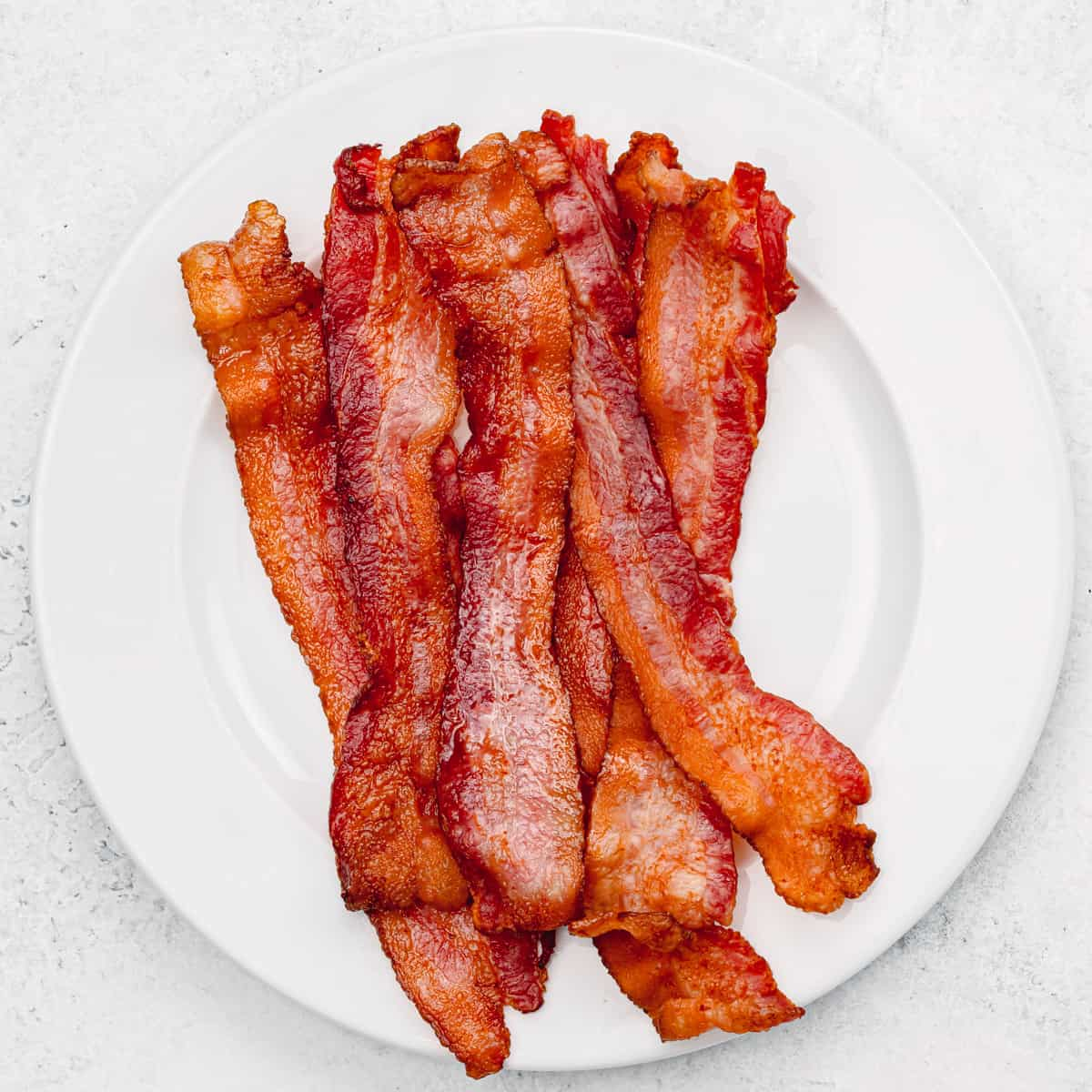 Crispy bacon.