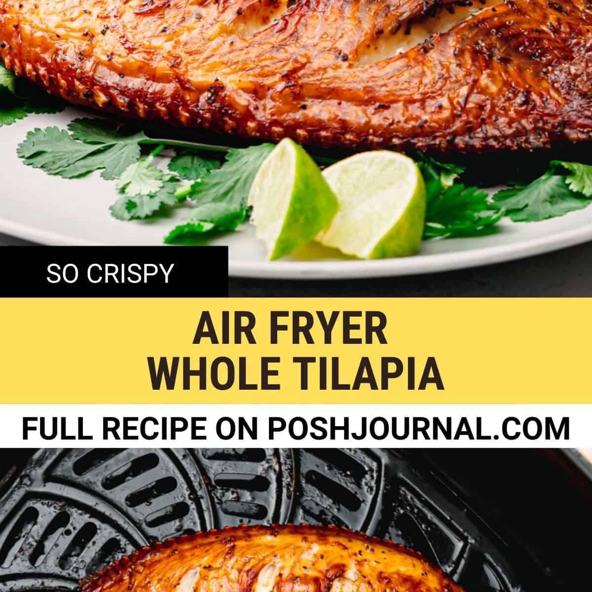 Air Fryer Tilapia.