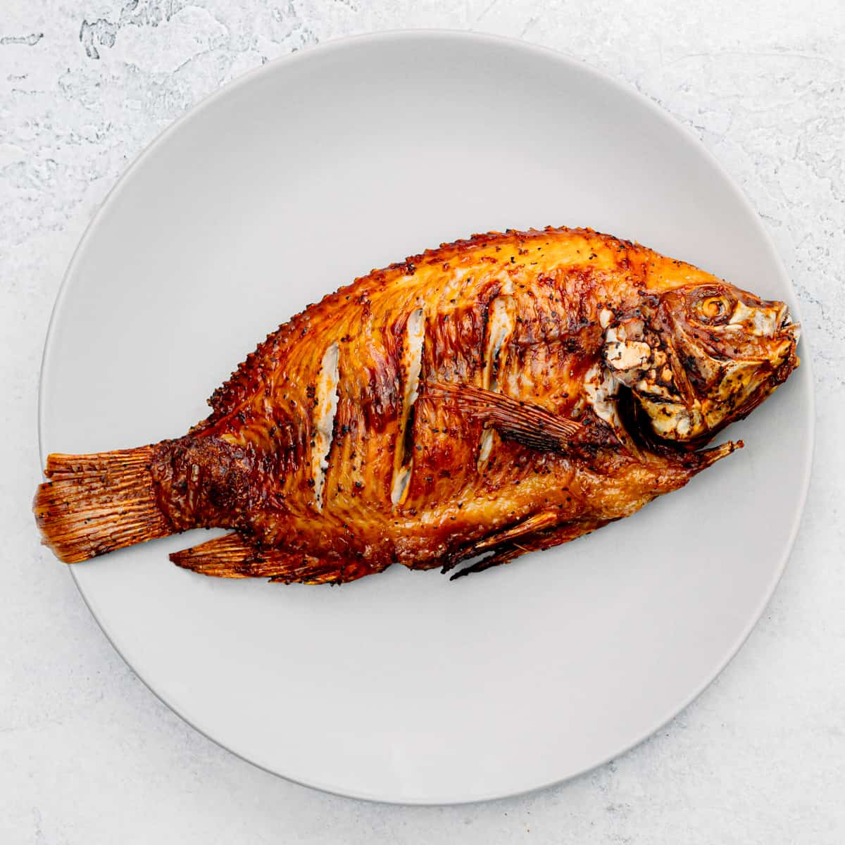 crispy fried fish without a ton of oil.