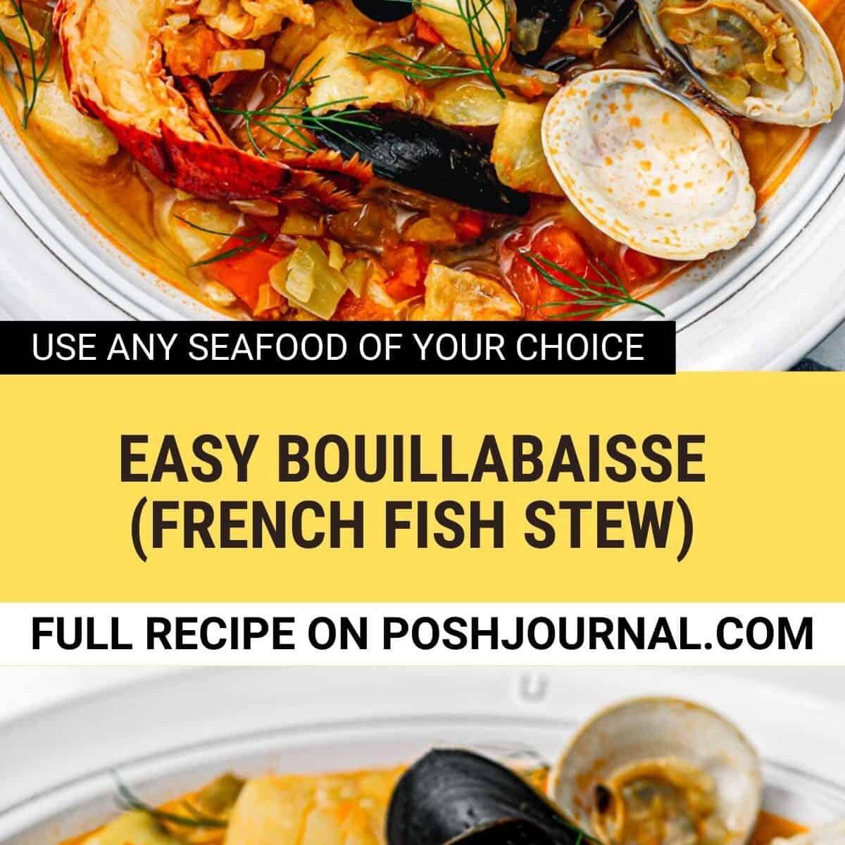 easy bouillabaisse recipe.