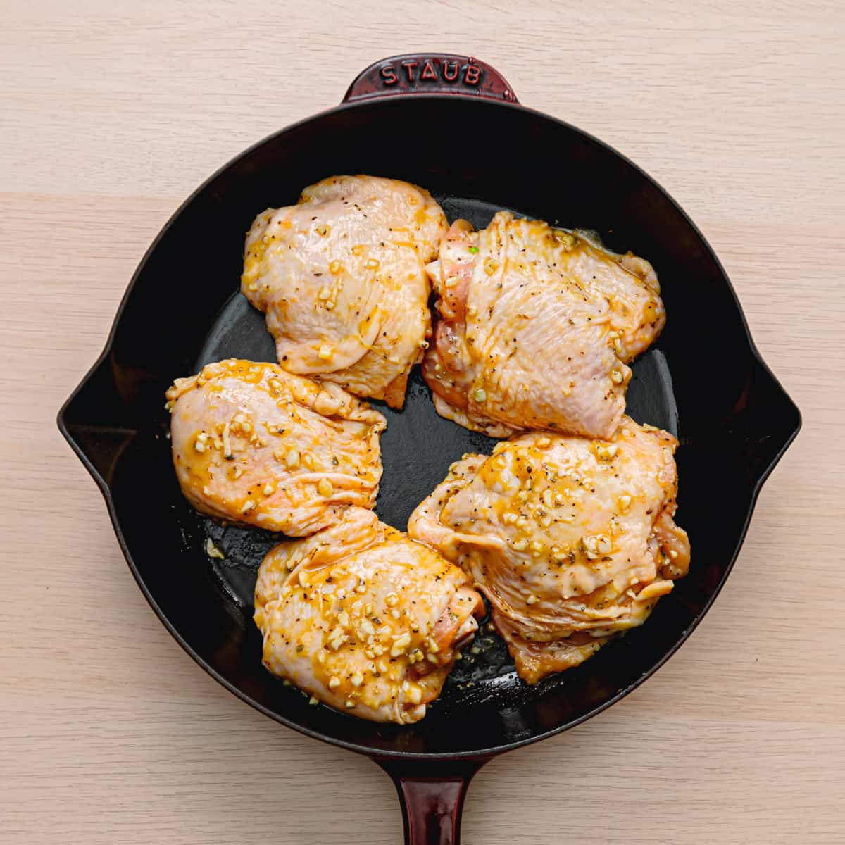 The Best Oven Baked Chicken Thighs