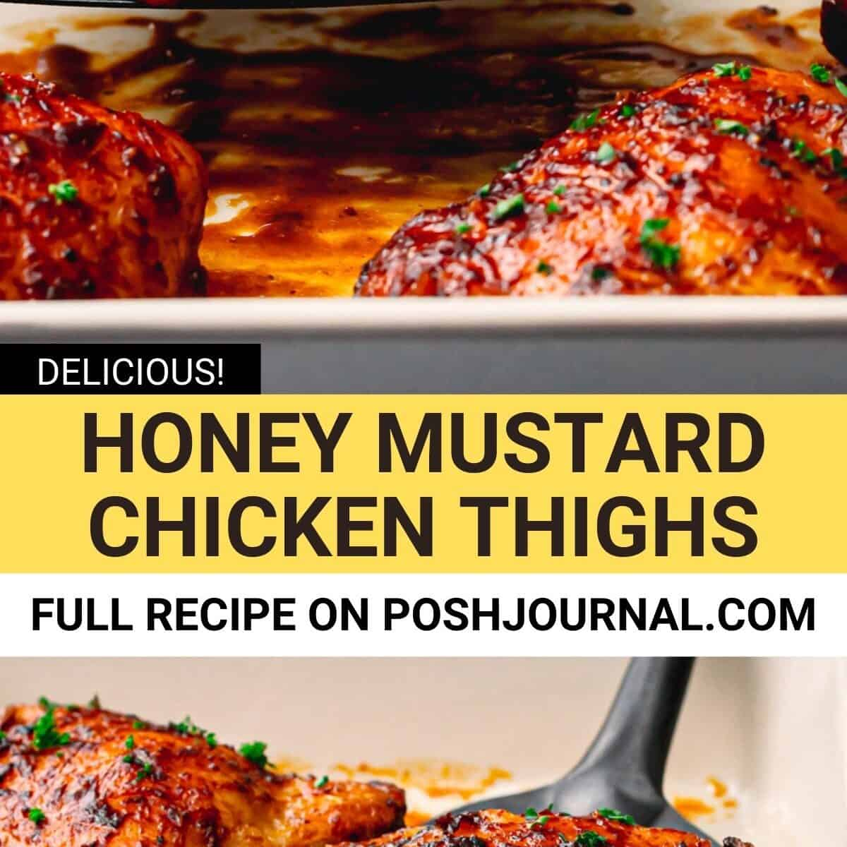 Honey Mustard Chicken Thighs Recipe