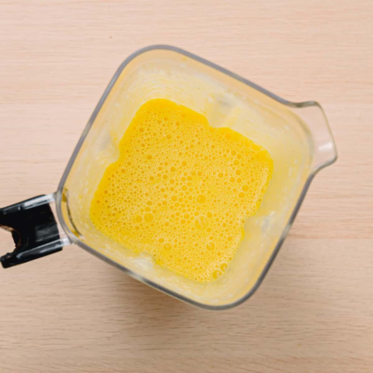 Egg Yolk and Lemon
