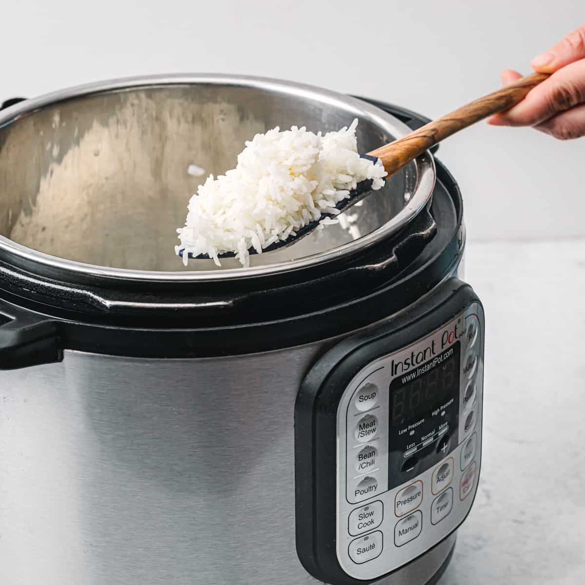 How to cook white rice in an instant pot