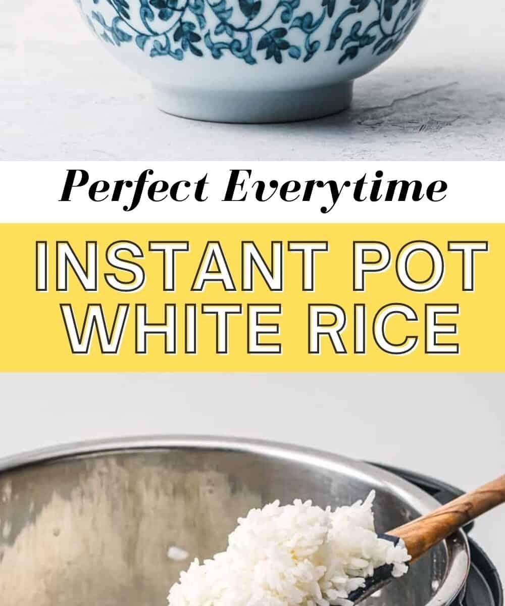 Instant Pot White Rice.