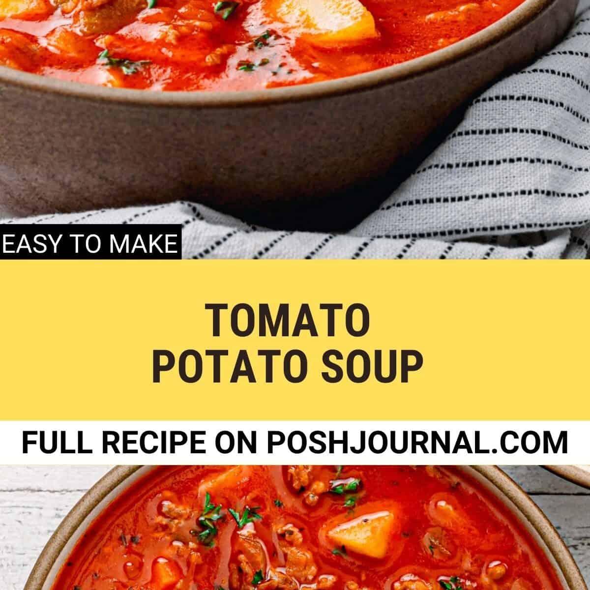 Tomato Potato Soup.