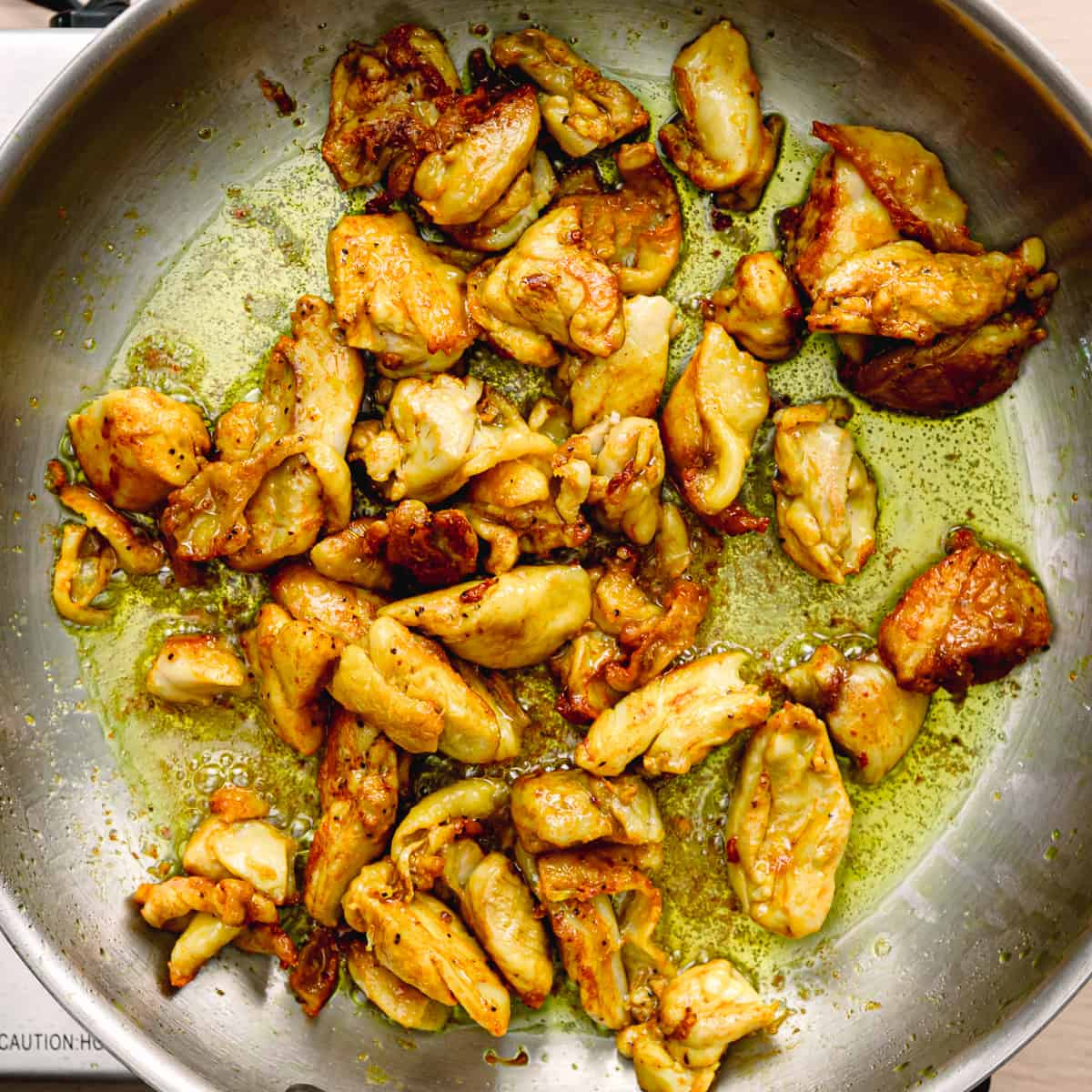 Chicken Thighs Stir Fry