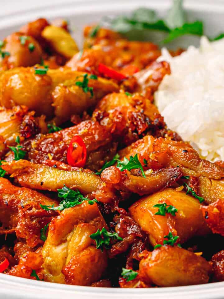 Vietnamese Lemongrass Chicken Stir Fry