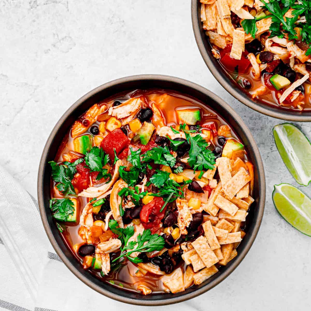 Chicken Tortilla Soup.