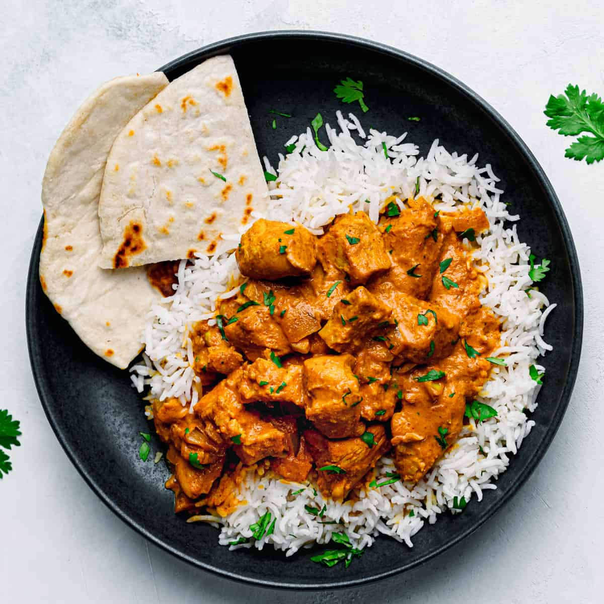 Instant Pot Chicken Tikka Masala.