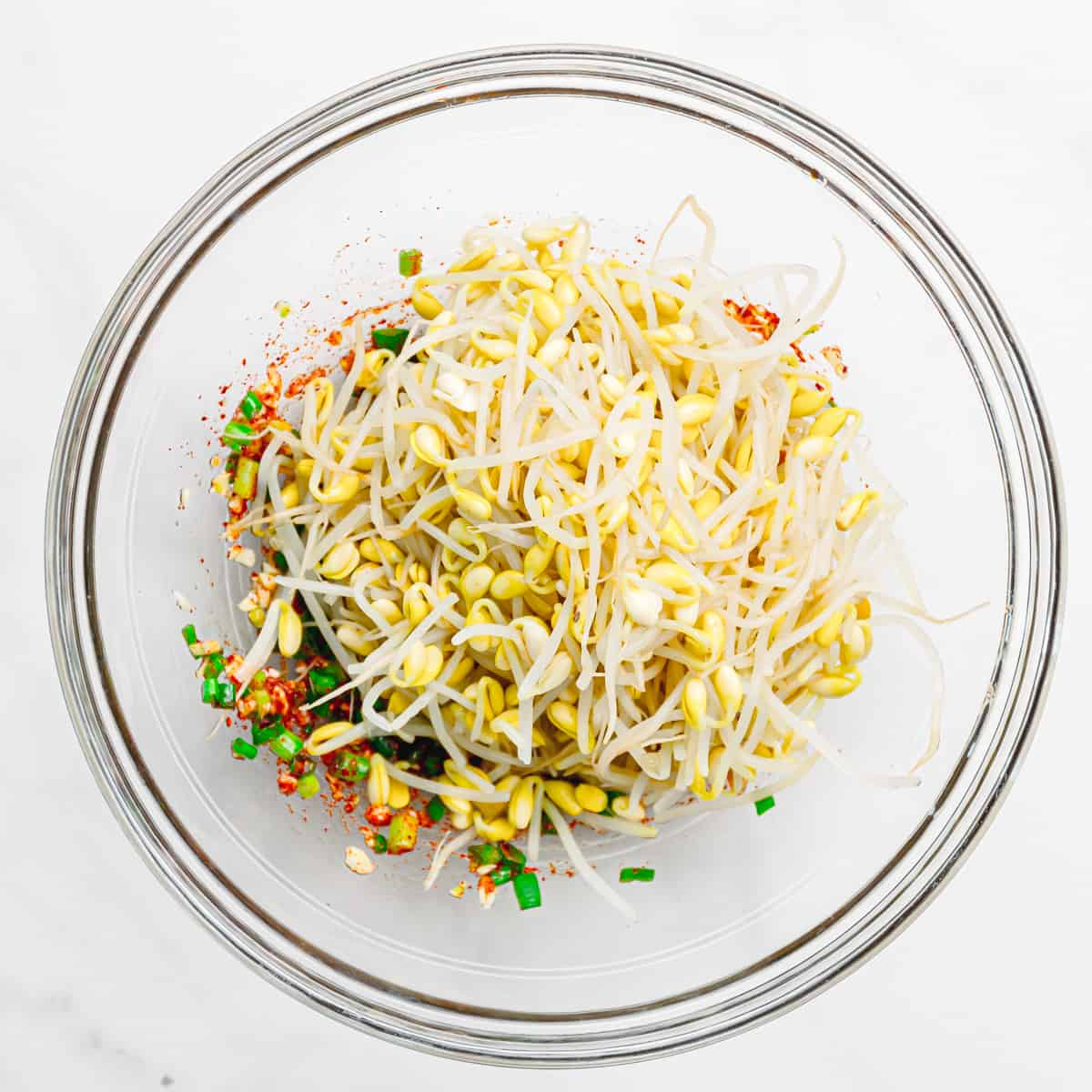 Bean Sprout Salad.