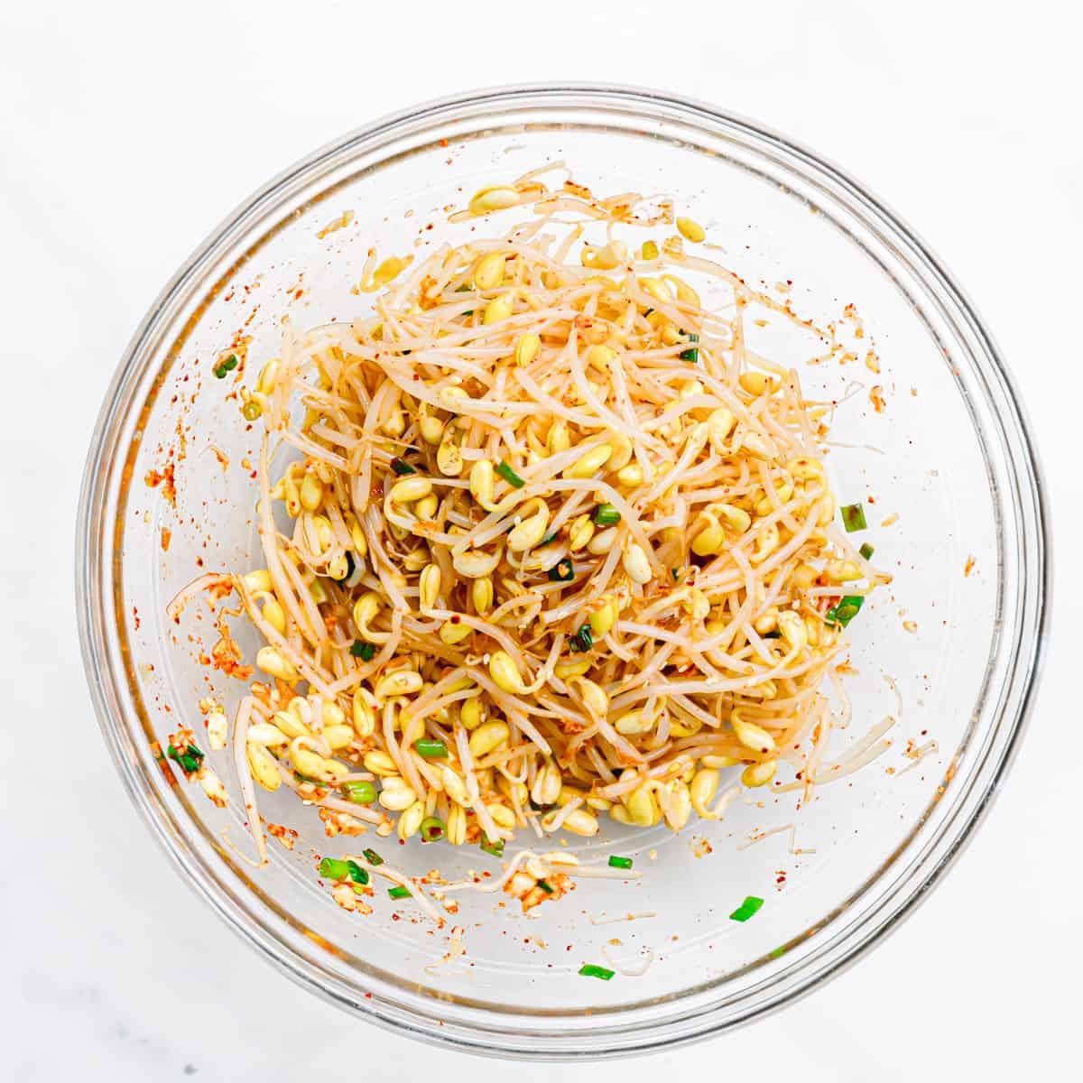 Korean Bean Sprout Salad Recipe