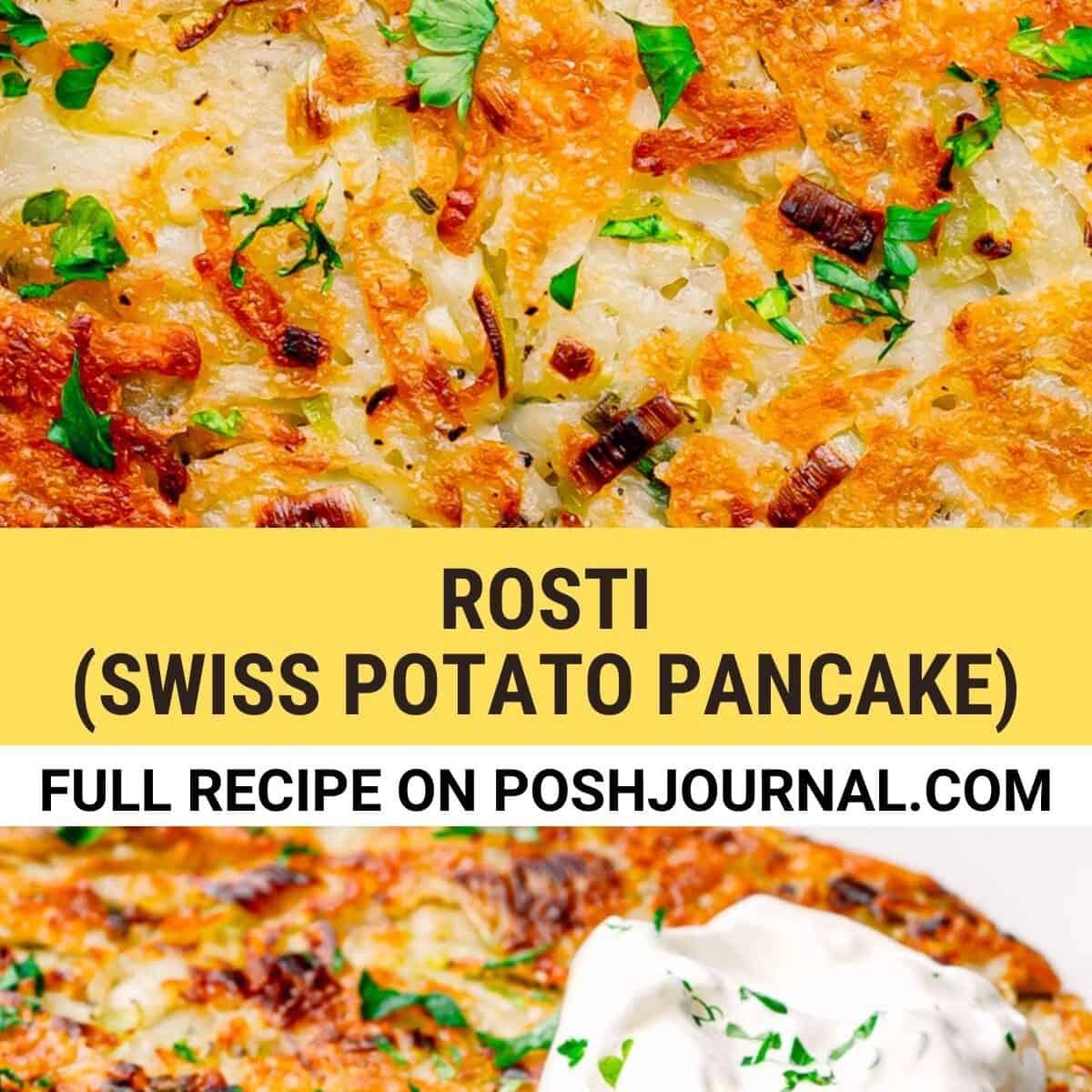 Potato Rosti recipe.