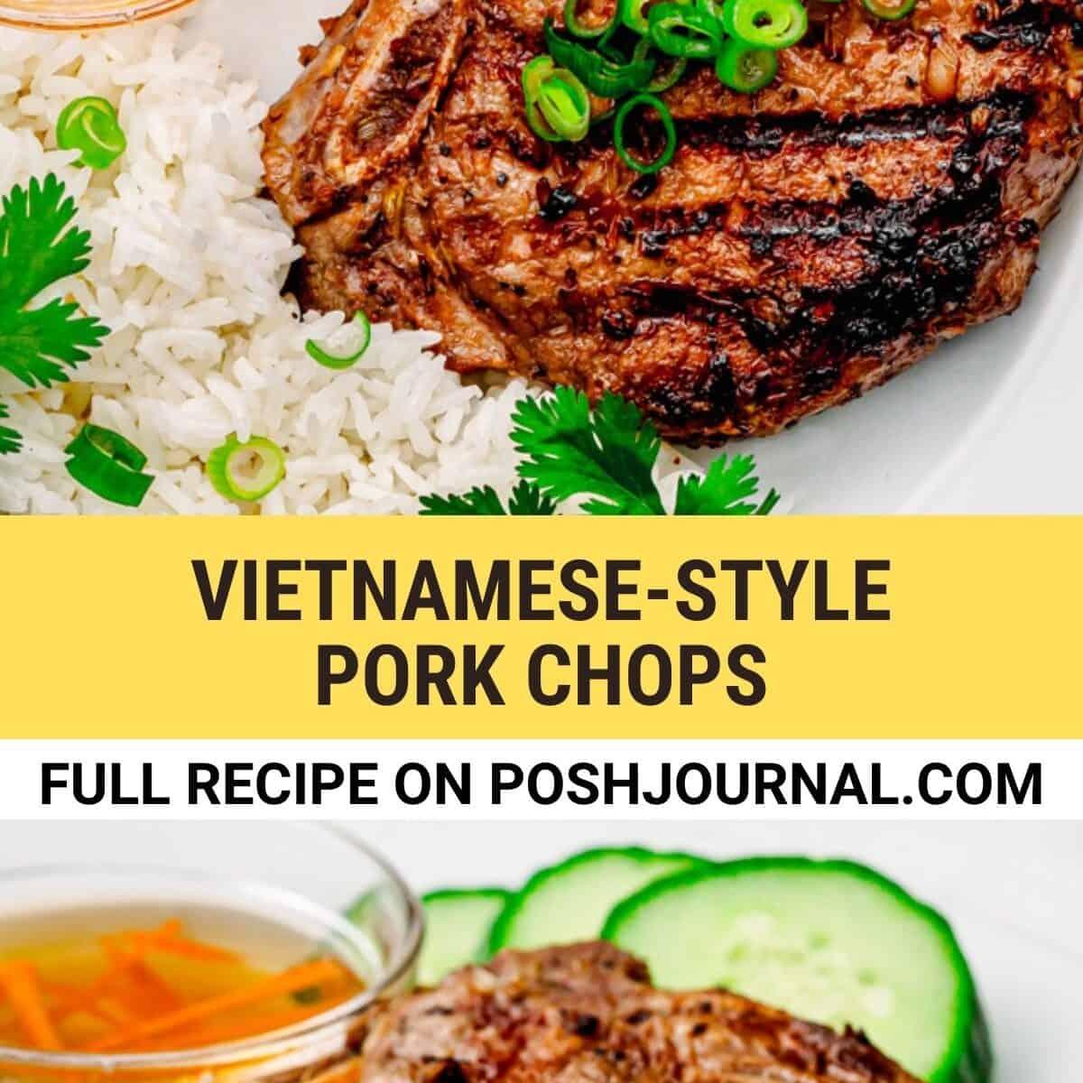 Vietnamese Pork Chops.