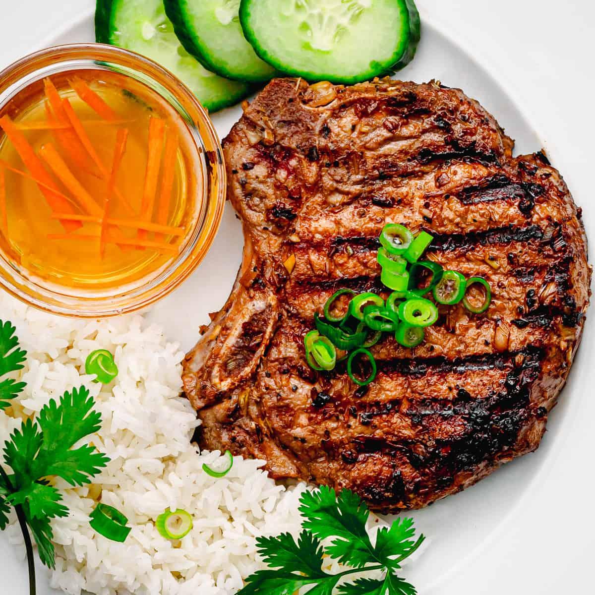 best vietnamese pork chop recipe Vietnamese Pork Chops