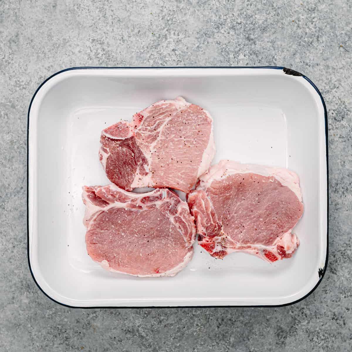 pork chops.